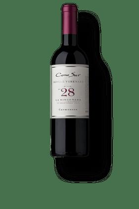 """Vinho-Tinto-Cono-Sur-Single-Vineyard-Carmenere-Block-28-""""La-Rinconada""""-2017"""