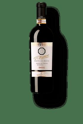 Vinho-Tinto-Torrevento-Castel-del-Monte-Nero-di-Troia-Riserva--Ottagono--DOCG-2014