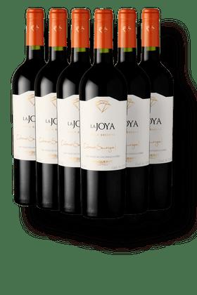 Kit-com-6-Vinhos-Tintos-Bisquertt-La-Joya-Gran-Reserva-Cabernet-Sauvignon-2018